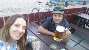 With Ondrej in Prague