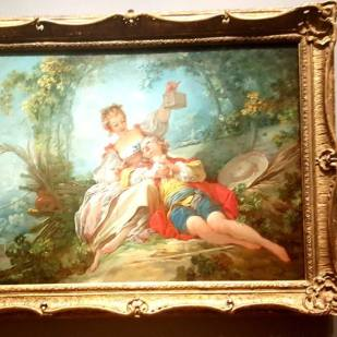 I always say: This is why there was a French Revolution....Fragonard - Rococo