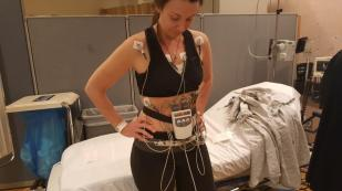 Echocardiogram geared towards checking lung function (14,000 day in hospital!)