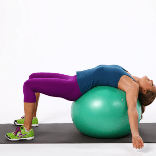 Ball or foam roller every day - must!
