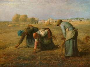 Jean-Francois Millet, The Gleaners 1857