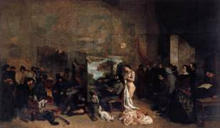 Gustave Courbet, The Studio of the Painter, 1855
