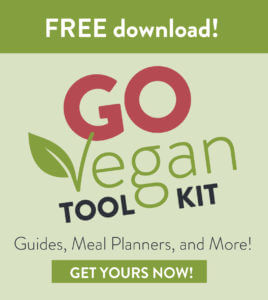 Sign up for Sharon Palmer's FREE Go Vegan Toolkit