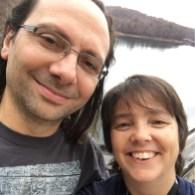 selfie with walt at dam