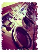Laundry Day (not really) by Jeanne Thomas