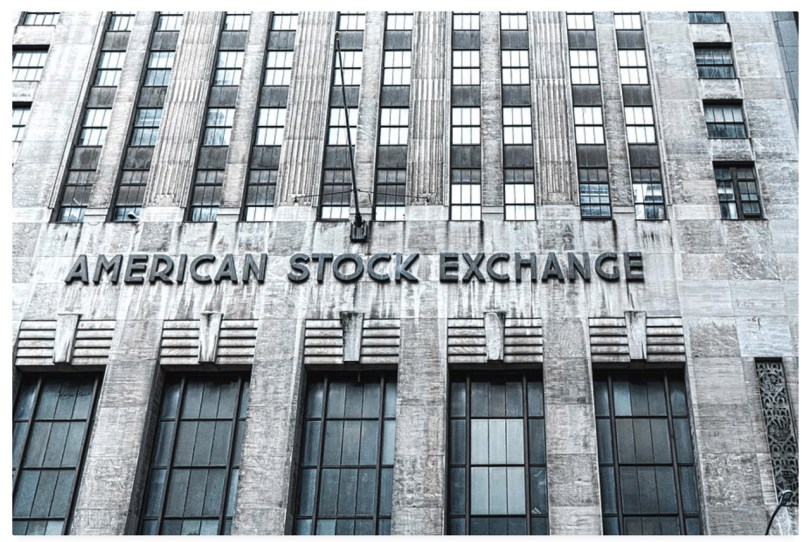 American Stock Exchange by Sharon Popek