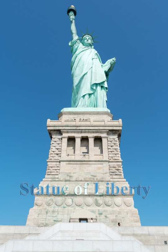 Lady Liberty by Sharon Popek