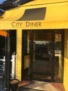 city diner door