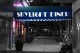 Skylight Diner at night