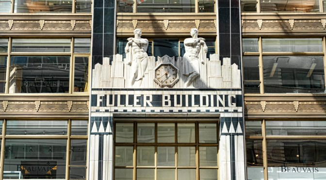 Fuller Building entry by Sharon Popek