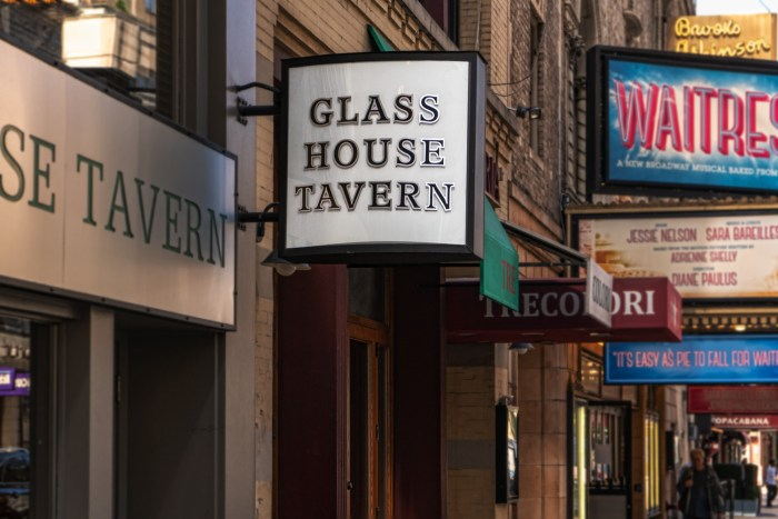 Glass House Tavern by Sharon Popek