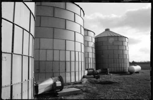 Grain Silos by Sharon Popek