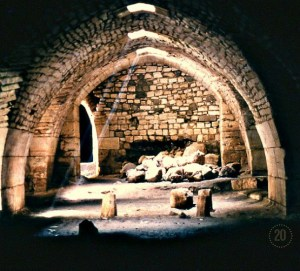 Once upon a time, we wandered through the grand halls of the Krak des Chevaliers. A beam of light streamed into this room as we rounded a corner. Now the world's oldest medieval castle sits in the midst of a country torn by war. May peace come soon. (Syria)