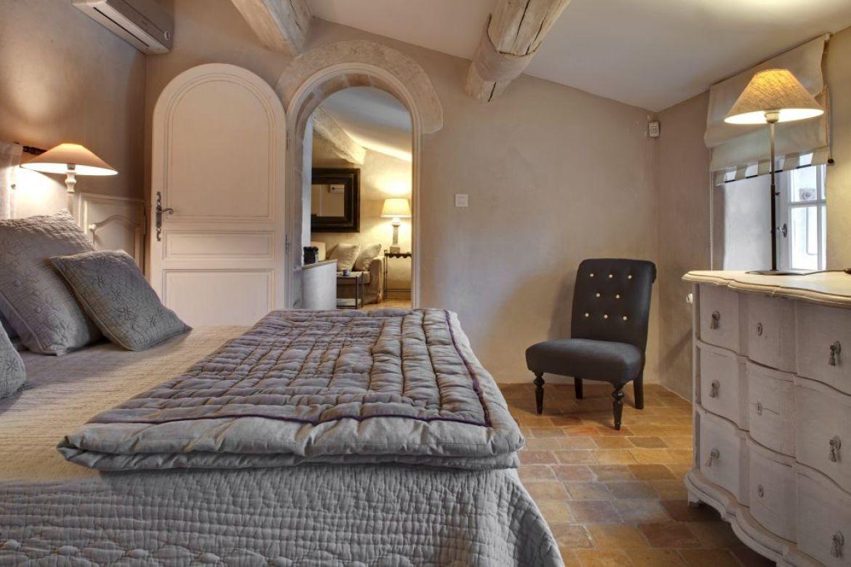 detail from the la mas de la rose hotel in southern france