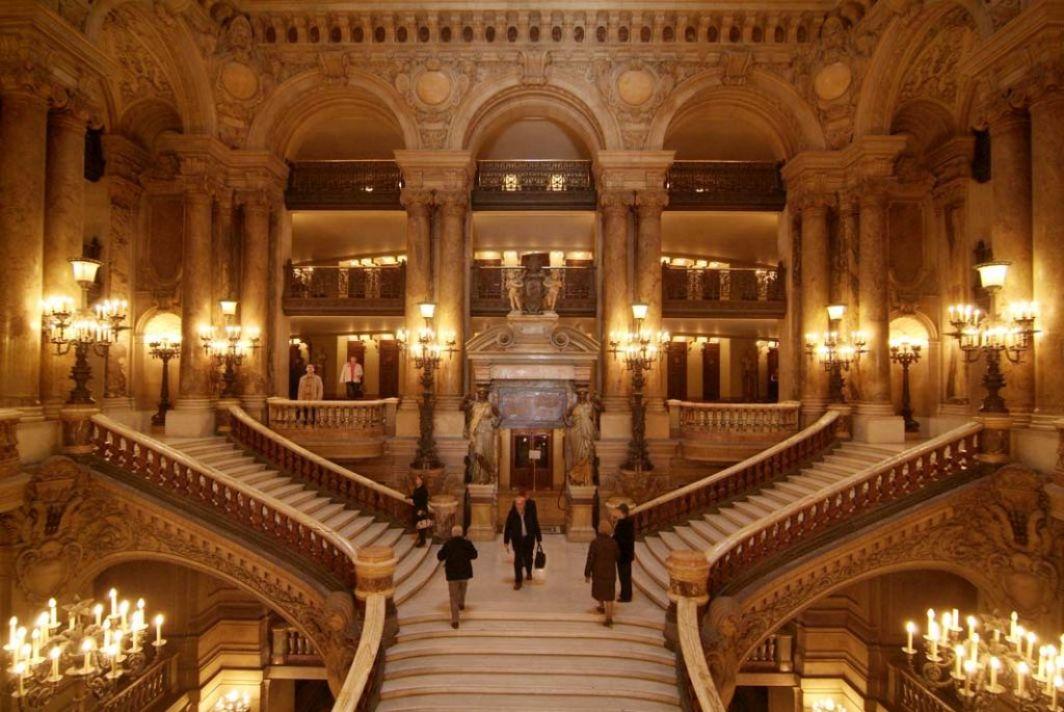staircase inside paris opera