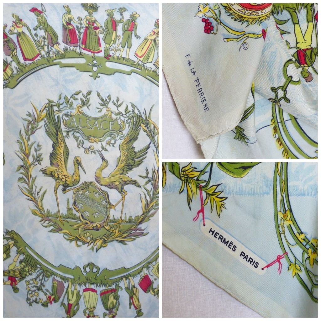 03d3cec43a84 french collectibles - the hermès scarf - MY FRENCH COUNTRY HOME