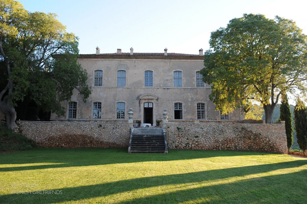 chateau de moissac, view from the garden