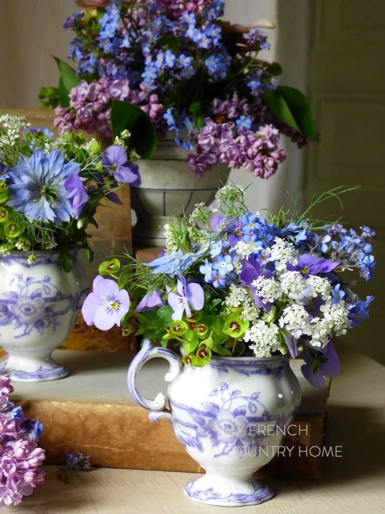 forget me nots and starting over .... - MY FRENCH COUNTRY HOME