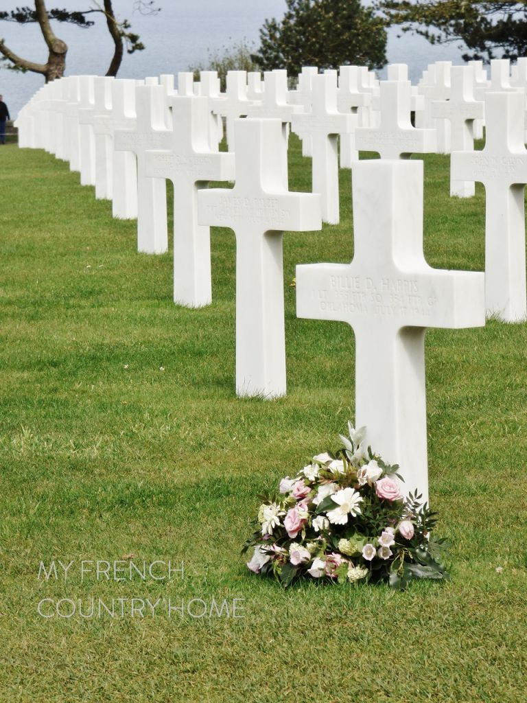 WHITE CROSSES IN MILITARY CEMETERY