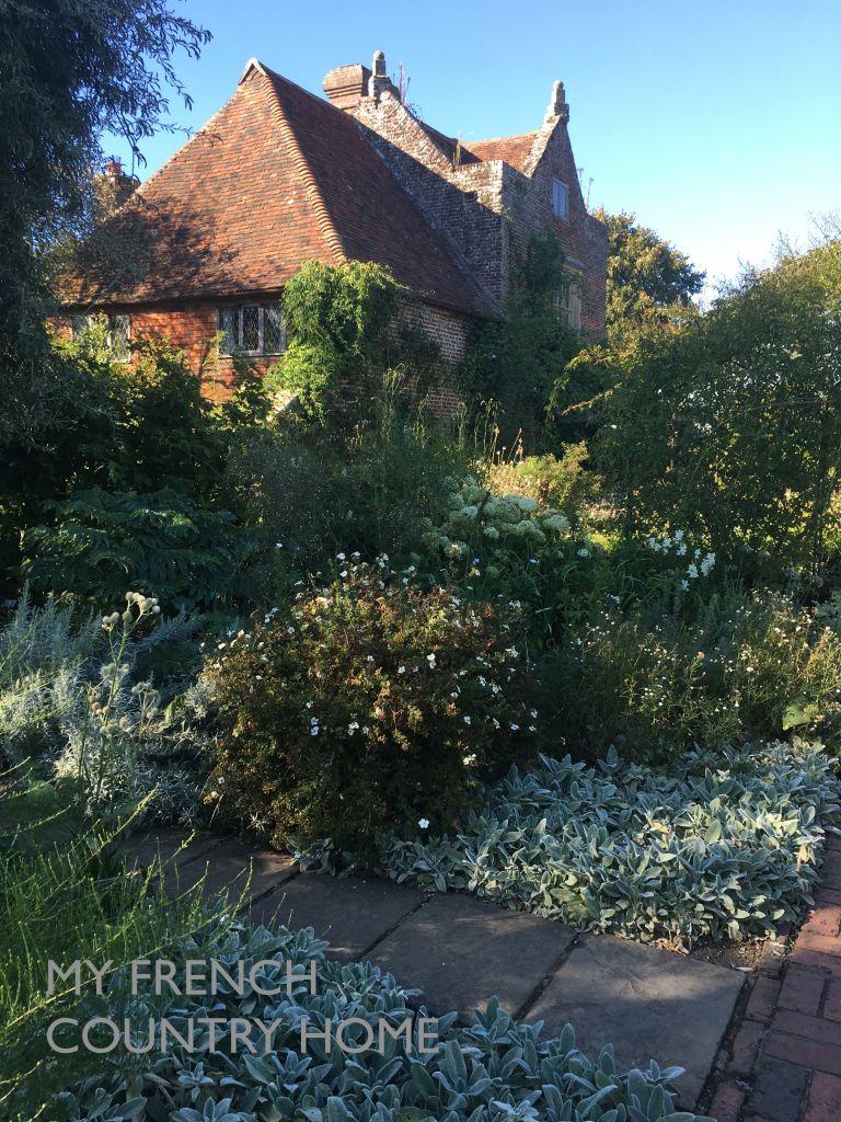 detail from sissinghurst gardens