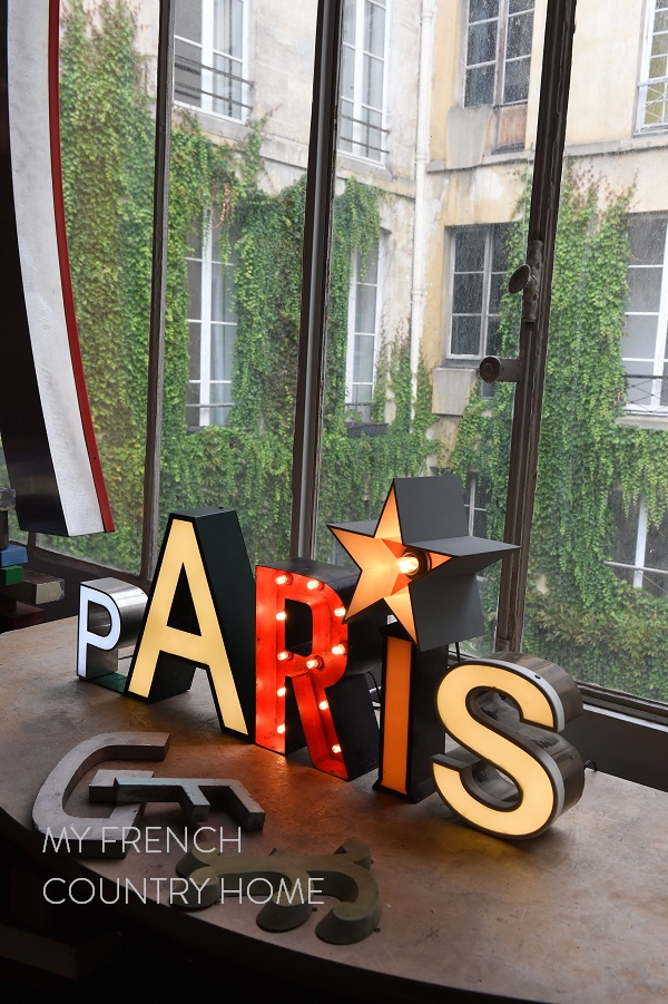 vintage letters my french country home