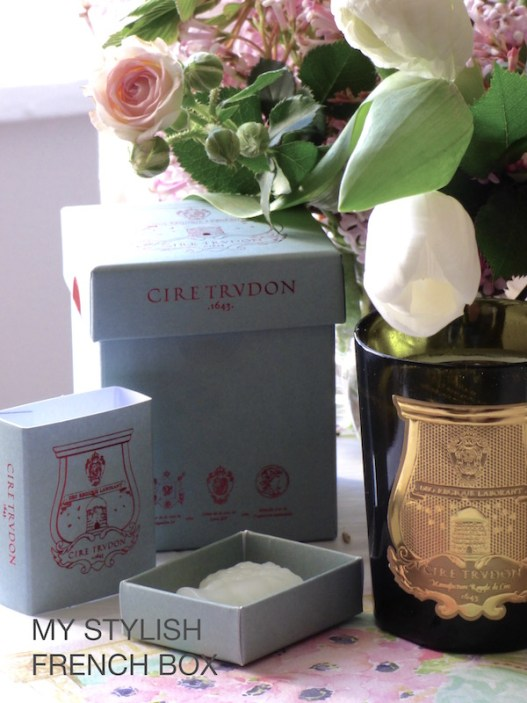 cire trudon candles in My Stylish French Box