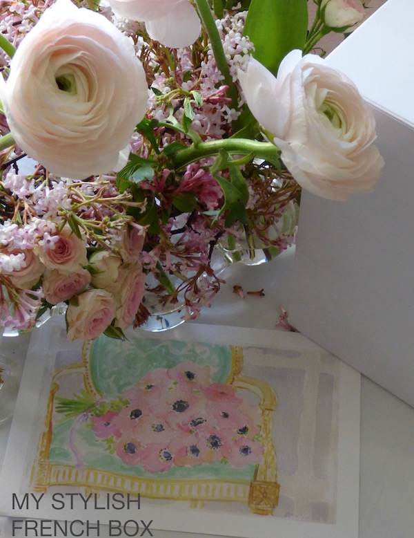 watercolour in my stylish french box