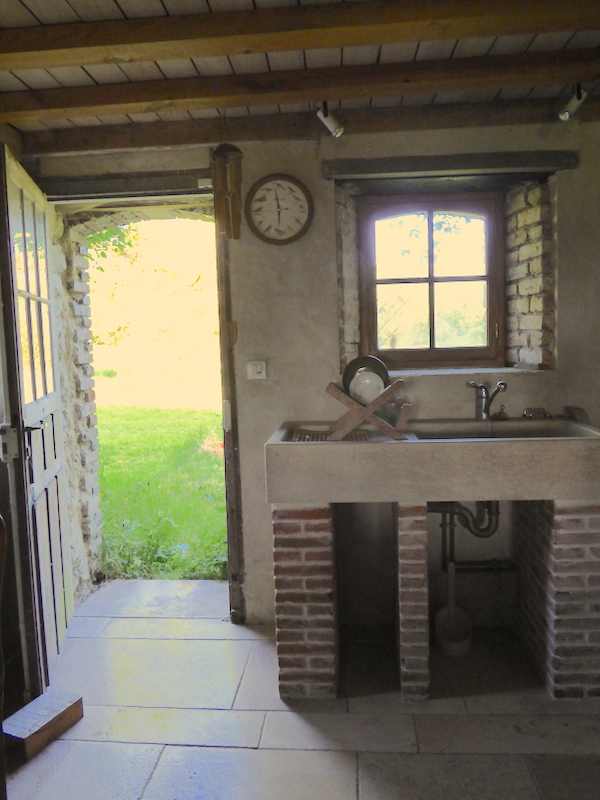 kitchen of house for sale in normandy