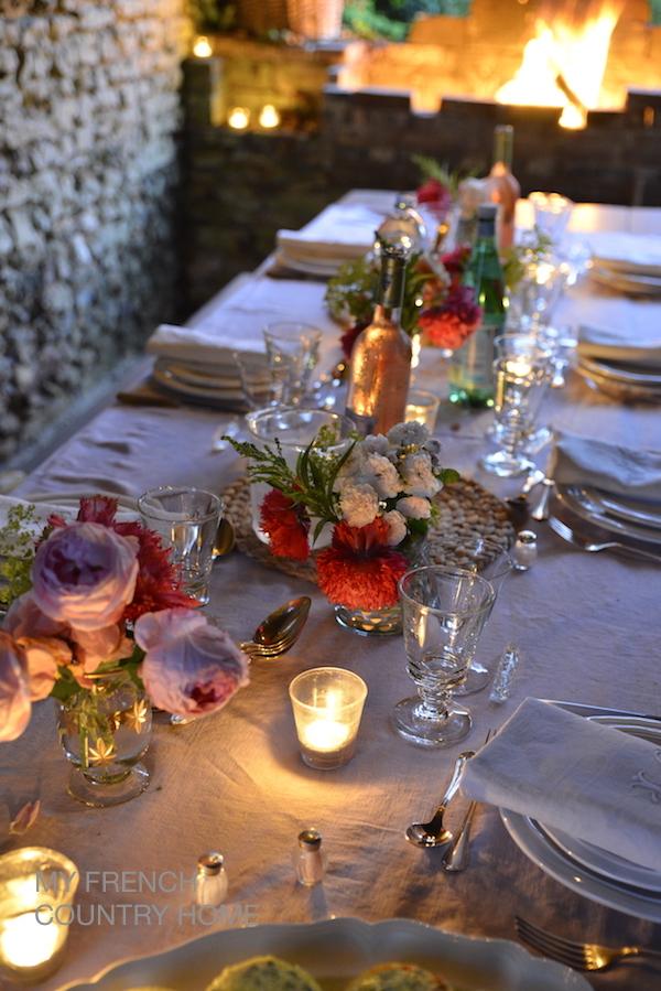 summer dining al fresco