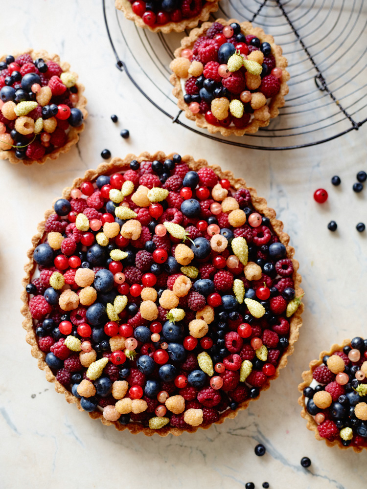 Berry tart, The Cook's Atelier Cookbook- MY FRENCH COUNTRY HOME