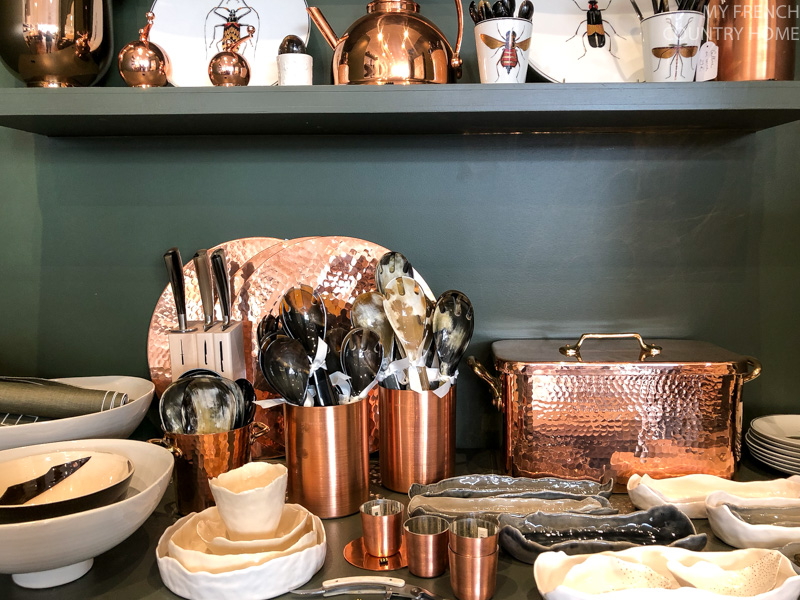 Copper kitchenware Maison du Bac- MY FRENCH COUNTRY HOME