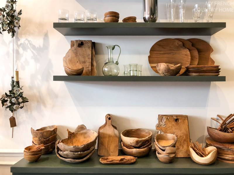 Wooden dishes Maison du Bac- MY FRENCH COUNTRY HOME