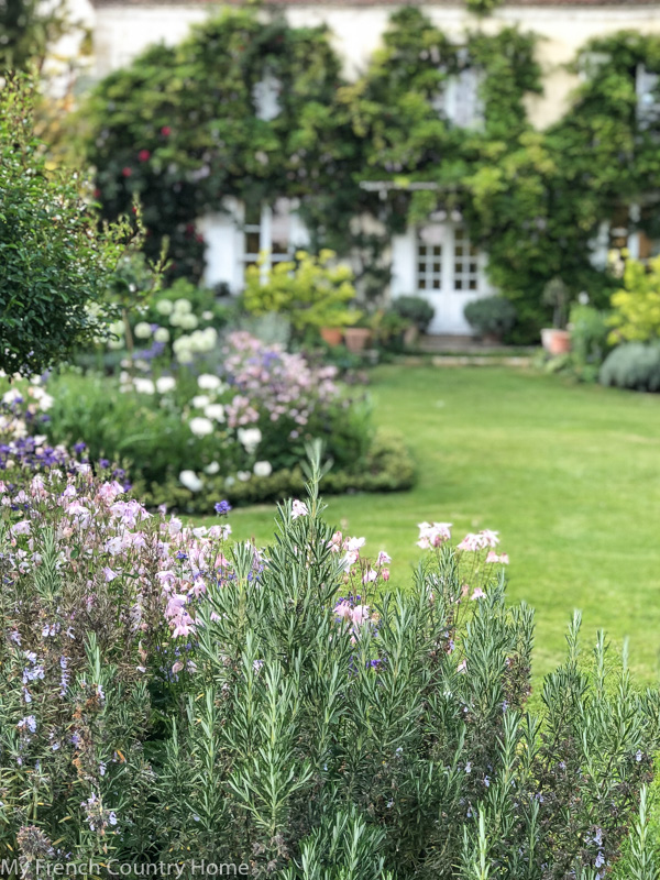 Flowers in the garden- My Garden Parterres- MY FRENCH COUNTRY HOME