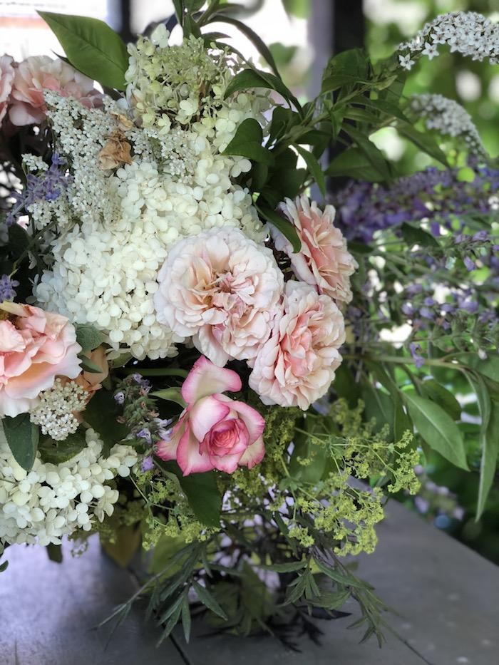 our giveaway winner and july flowers from the garden - MY FRENCH COUNTRY HOME