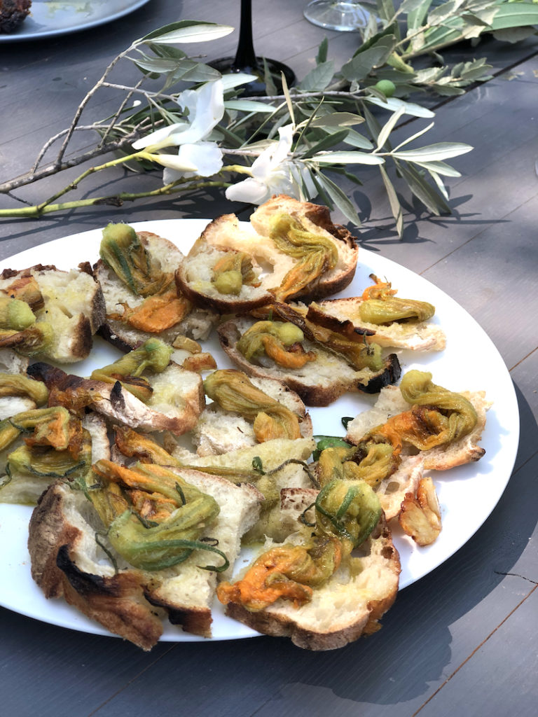 zucchini flowers and why I love them- MY FRENCH COUNTRY HOME