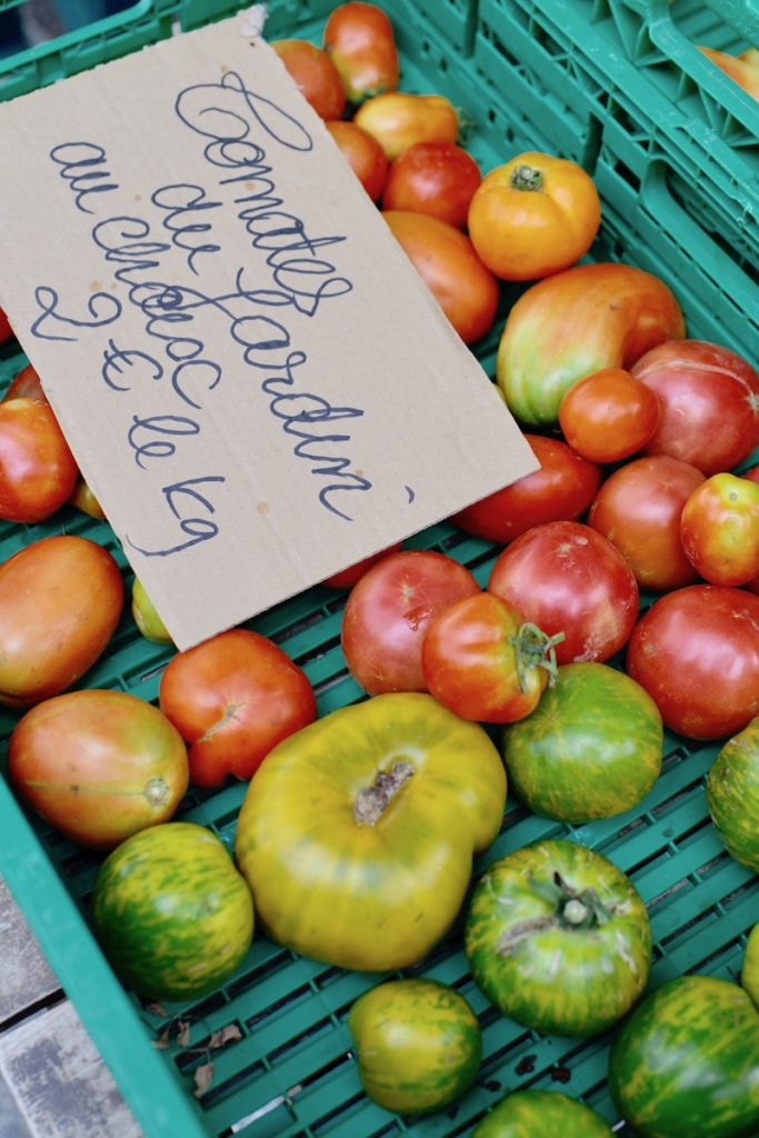 Tomatoes for sale- Farmers markets- MY FRENCH COUNTRY HOME