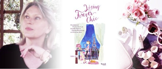 Book announcement for Forever Chic by Tish Jett