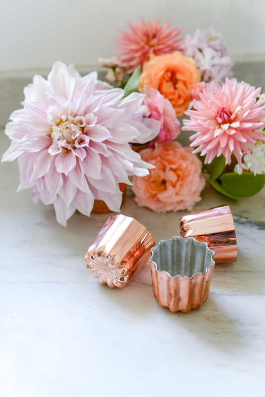 the my stylish french box canele molds with flowers