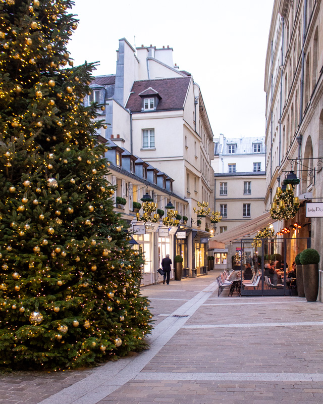 Village Royale- paris decorated for christmas- MY FRENCH COUNTRY HOME