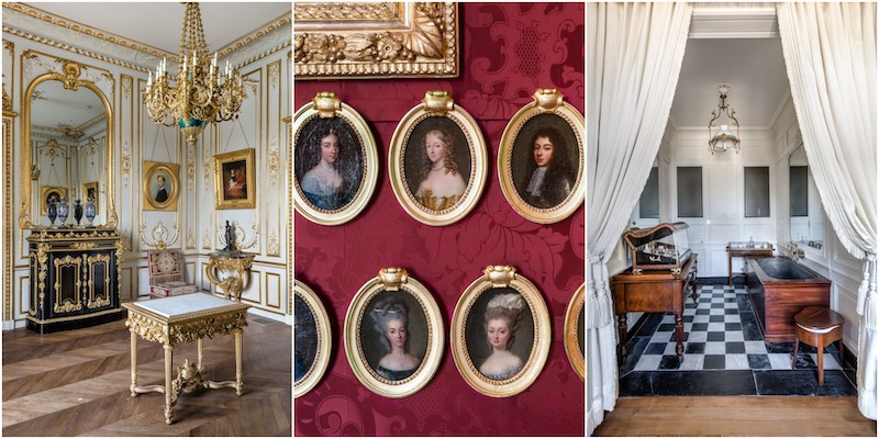 Interior Shots of Chateau de Chantilly outside of Paris | Grand Opening of the newly Remodeled 19th century apartments | My French Country Home