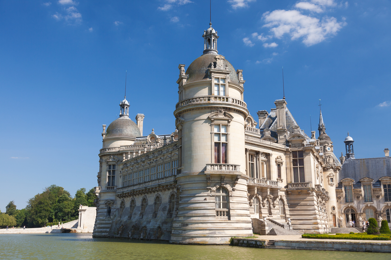 The outside of Chateau de Chantilly outside of Paris | Grand Opening of the newly Remodeled 19th century apartments | My French Country Home