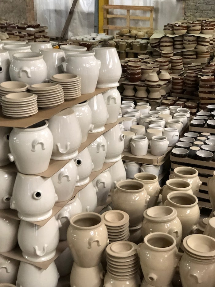 manufacturing stoneware on the MFCH Burgundy Tour