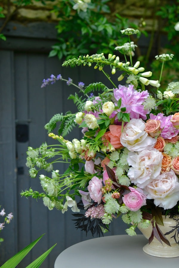 bouquet of mixed summer flowers