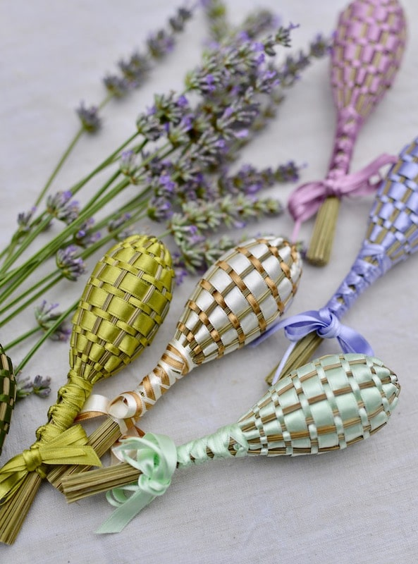 Lavender wands by La Maison Franc for My Stylish French Box August 2019- Summer Living in Provence- MY FRENCH COUNTRY HOME