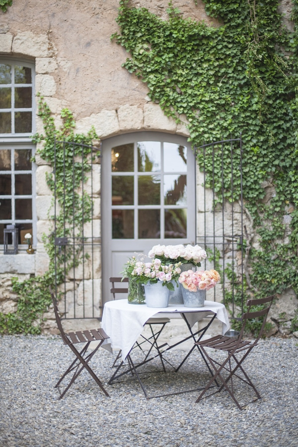 Retreat in Provence | My French Country Home | at Chateau de Moissac outside in Provence