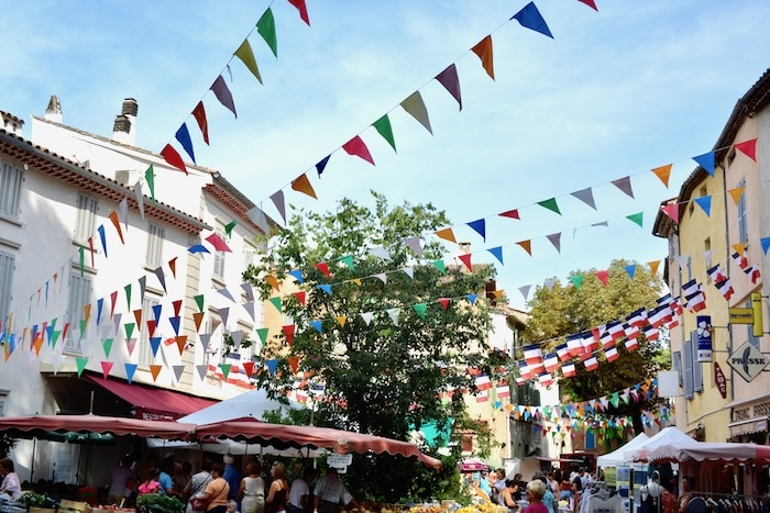 market day in the village