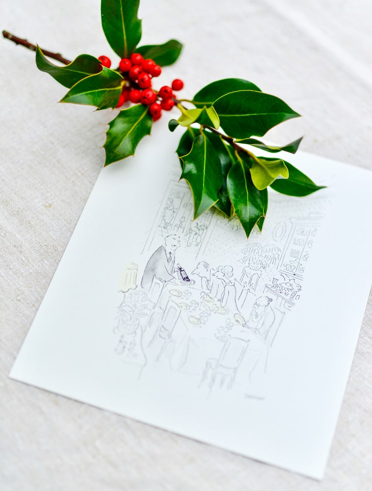 custom print by jean-jacques sempé- november box 2019- MY FRENCH COUNTRY HOME