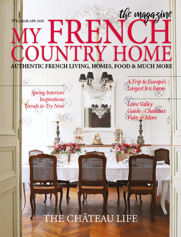 front cover of march/april magazine of my french country home