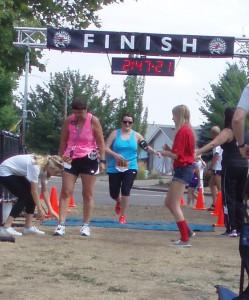 Yay! - First Half Marathon.