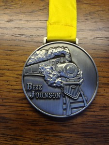 Bizz Johnson - Medal